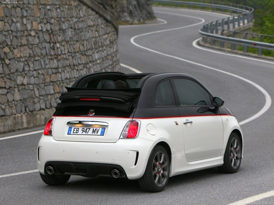 Fiat 500C Abarth cars 2011 wallpaper