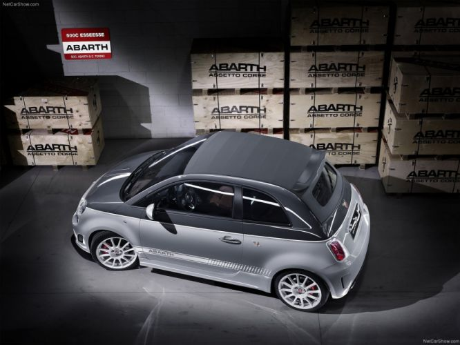 2011 500c Abarth esseesse Fiat wallpaper
