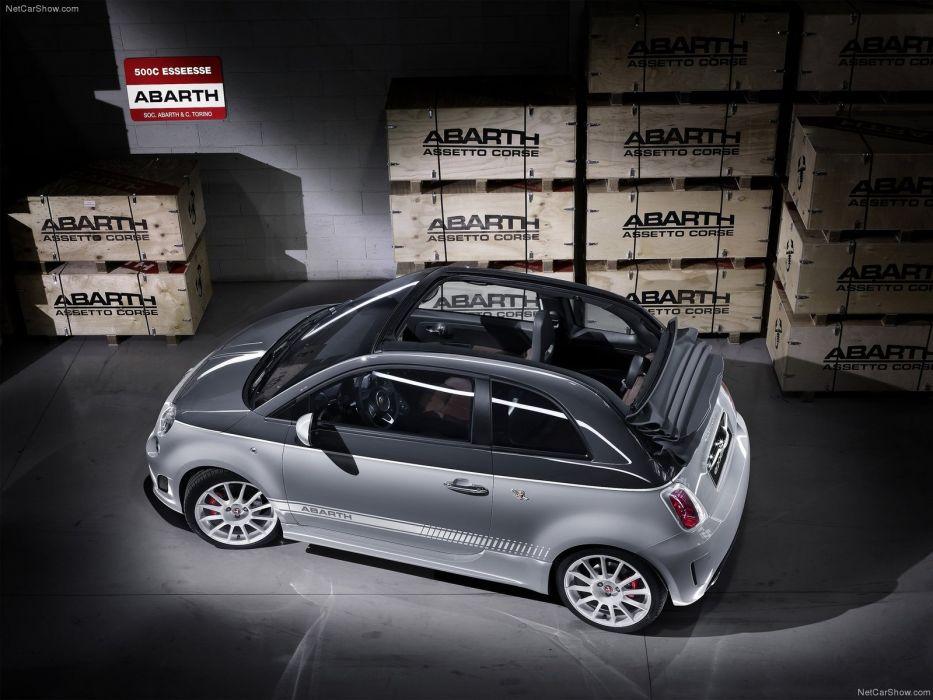 2011 500c Abarth esseesse Fiat wallpaper