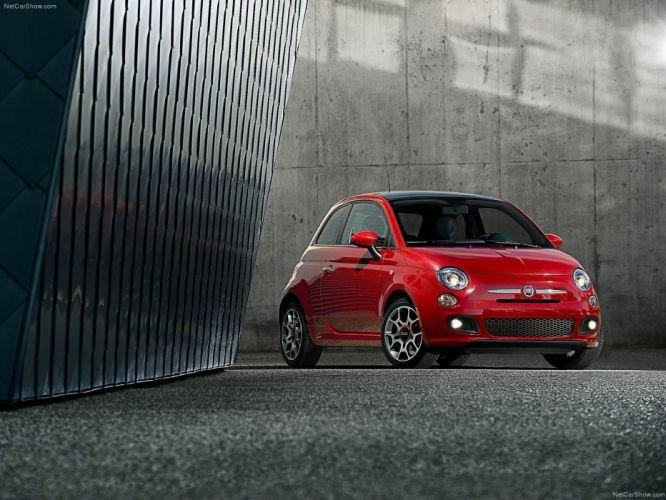 2011 500 sport Fiat cars wallpaper