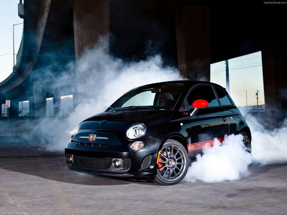 Fiat 500 Abarth cars 2012 wallpaper