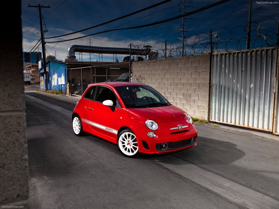 Fiat 500 Abarth cars 2012 wallpaper