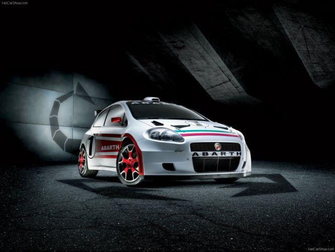 2007 Abarth Fiat grande punto S2000 wallpaper