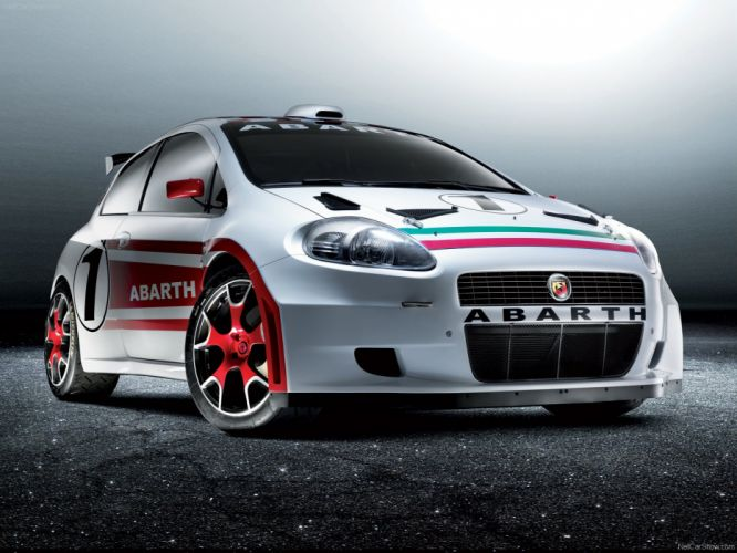 2007 Abarth Fiat grande punto S2000 wallpaper