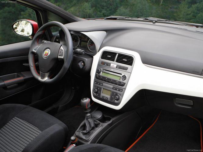 2008 Abarth Fiat grande punto cars wallpaper