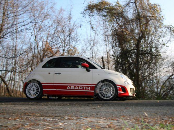 2010 500 Abarth Fiat r3t wallpaper