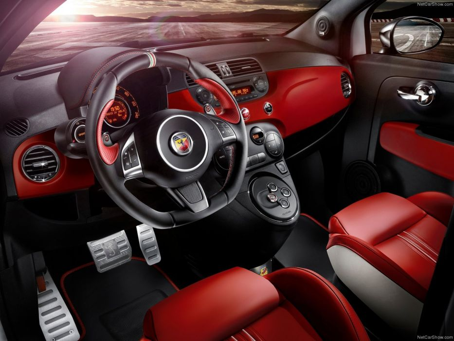 Fiat 595 Abarth 50th Anniversary 2014 wallpaper