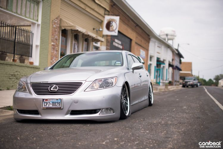 Lexus LS460L tuning custom wallpaper