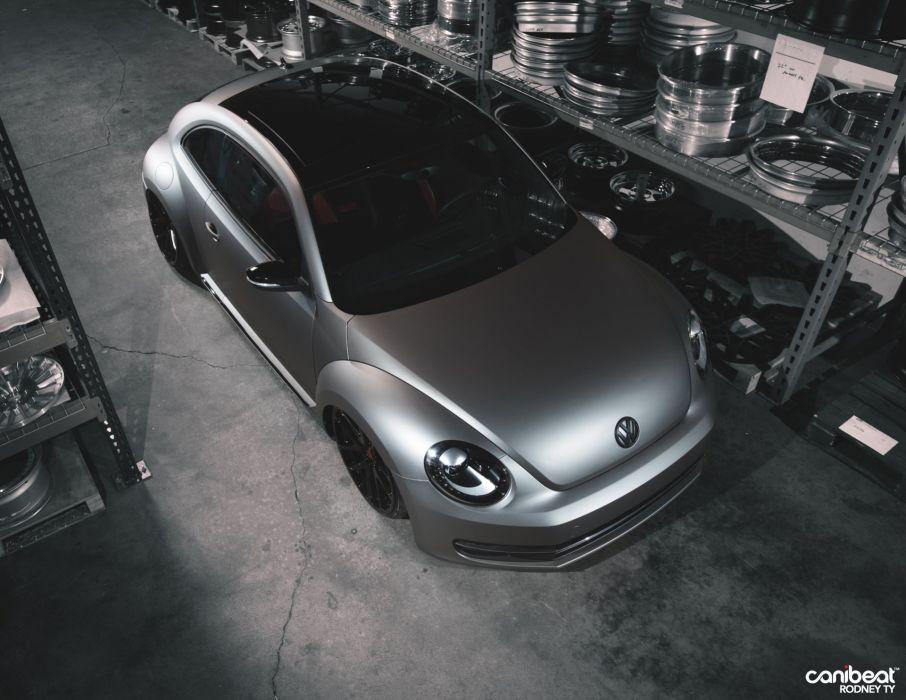 2012 Volkswagen Beetle tuning custom wallpaper