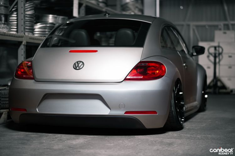 2012 Volkswagen Beetle tuning custom wallpaper