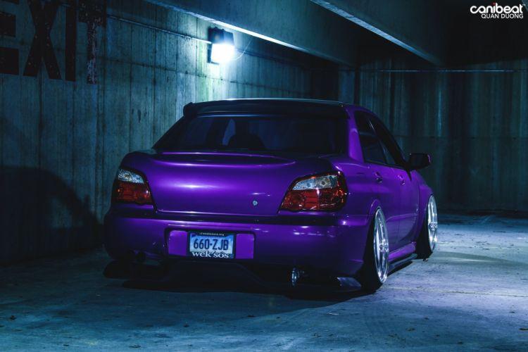 2007 Subaru WRX STI tuning custom wallpaper