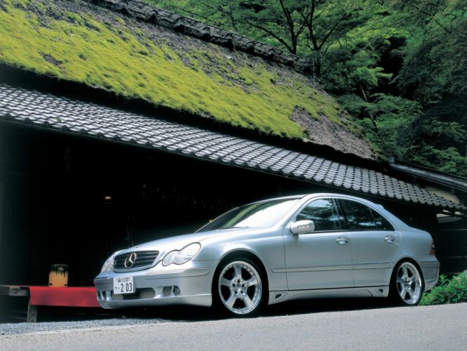 Lorinser Mercedes-Benz C-Klasse (W203) sedan '2000 cars 2000 wallpaper