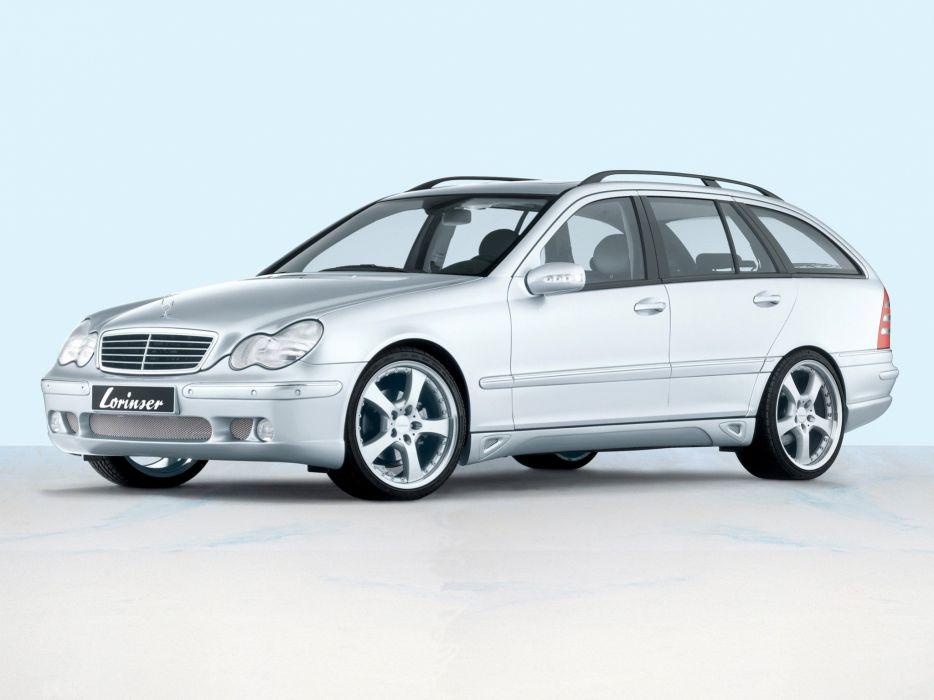 Lorinser Mercedes-Benz C-Klasse Estate (S203) modified cars 2000 wallpaper