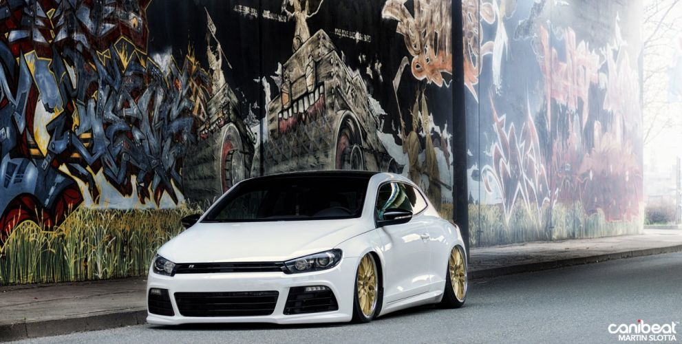 VOLKSWAGEN SCIROCCO tuning custom wallpaper