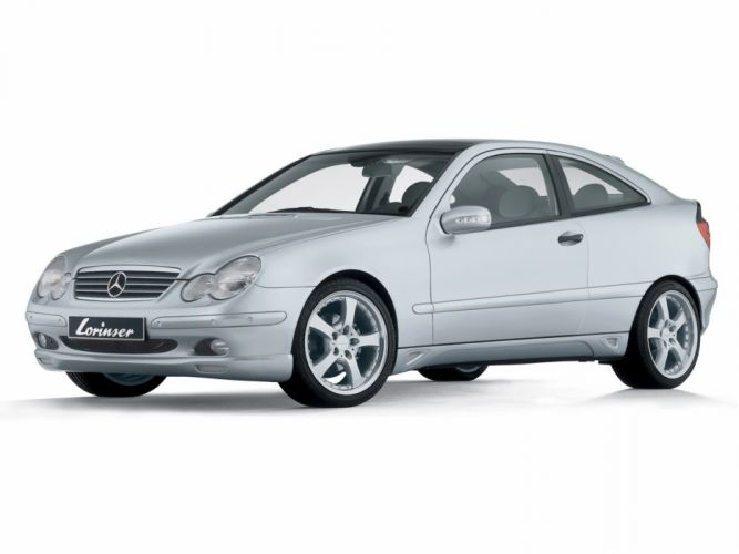 Lorinser Mercedes-Benz C-Klasse Sportcoupe (C203) modified cars 2000 wallpaper