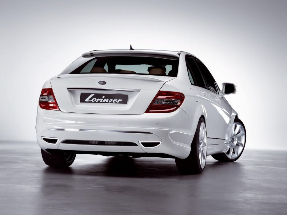 Lorinser Mercedes-Benz C-Klasse (W204) modified cars 2007 wallpaper
