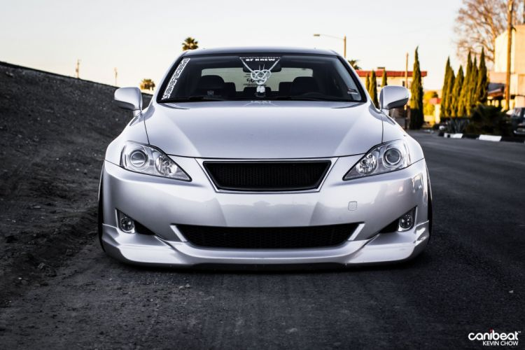 2008 LEXUS IS250 tuning custom wallpaper