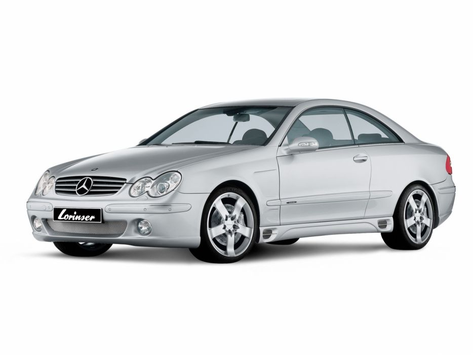 Lorinser Mercedes-Benz CLK-Klasse (C209) cars modified 2007 wallpaper