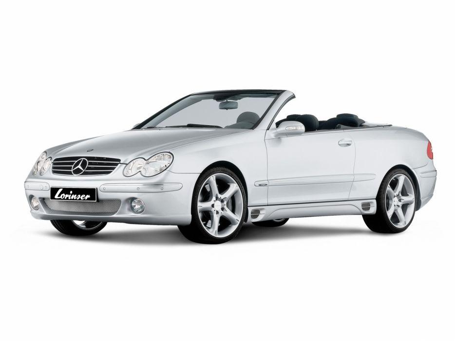 Lorinser Mercedes-Benz CLK-Klasse (a209) cars modified 2008 wallpaper