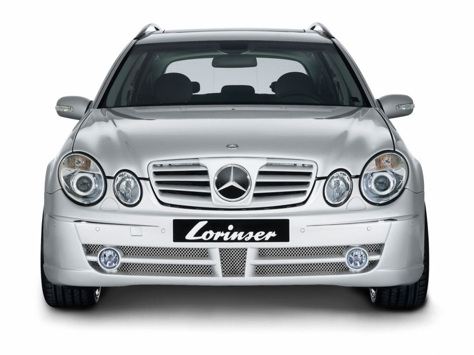 Lorinser Mercedes-Benz e-Klasse Estate (s211) cars modified 2008 wallpaper