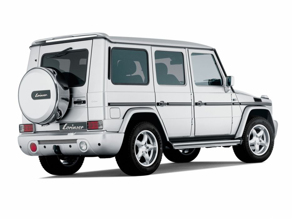 Lorinser Mercedes-Benz G-Klasse LWB (W463) cars modified 2008 wallpaper