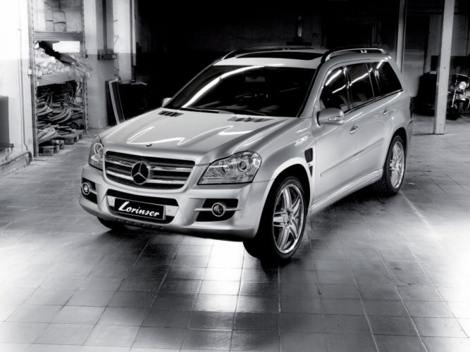 Lorinser Mercedes-Benz GL-Klasse (X164) cars modified 2006 wallpaper