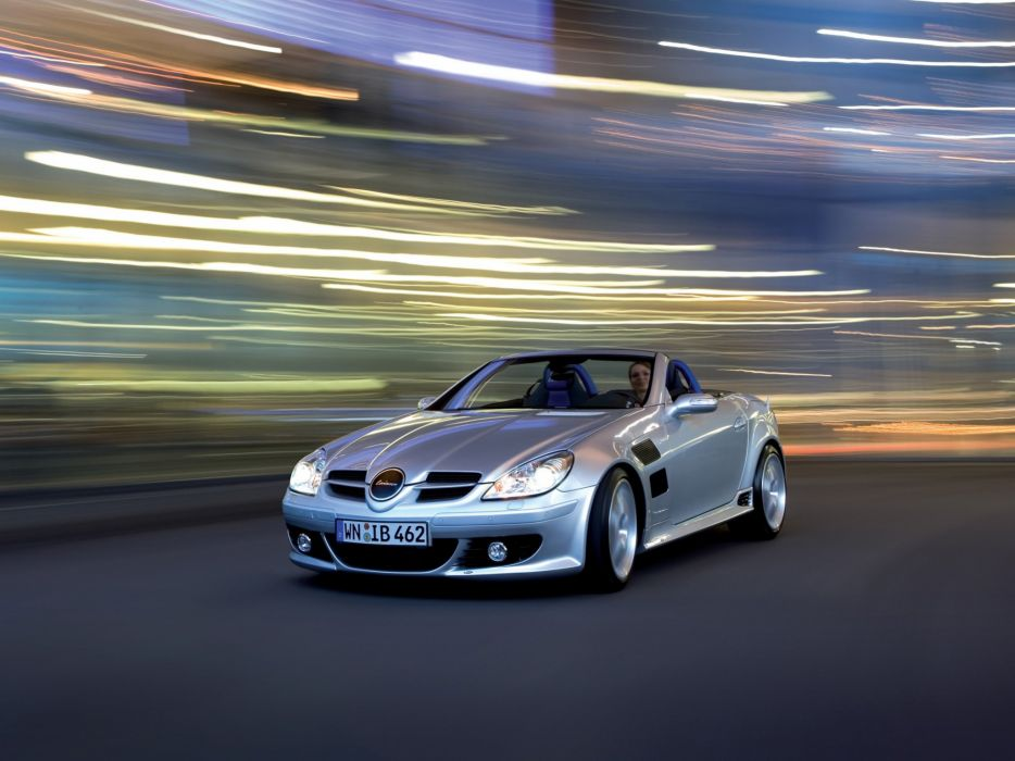 Lorinser Mercedes-Benz SLK (R171) cars modified 2012 wallpaper