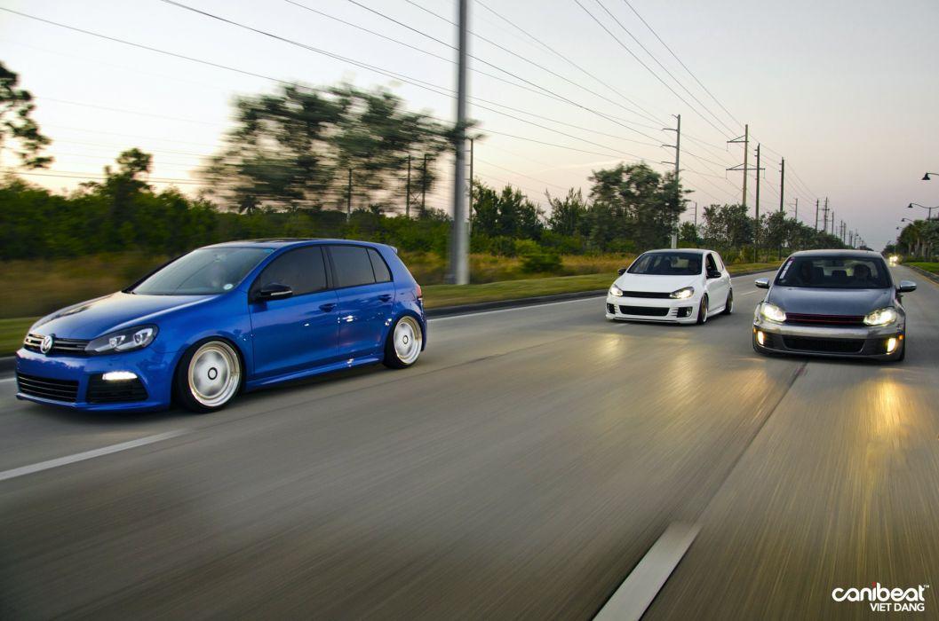 Volkswagen Mk6 tuning classic wallpaper