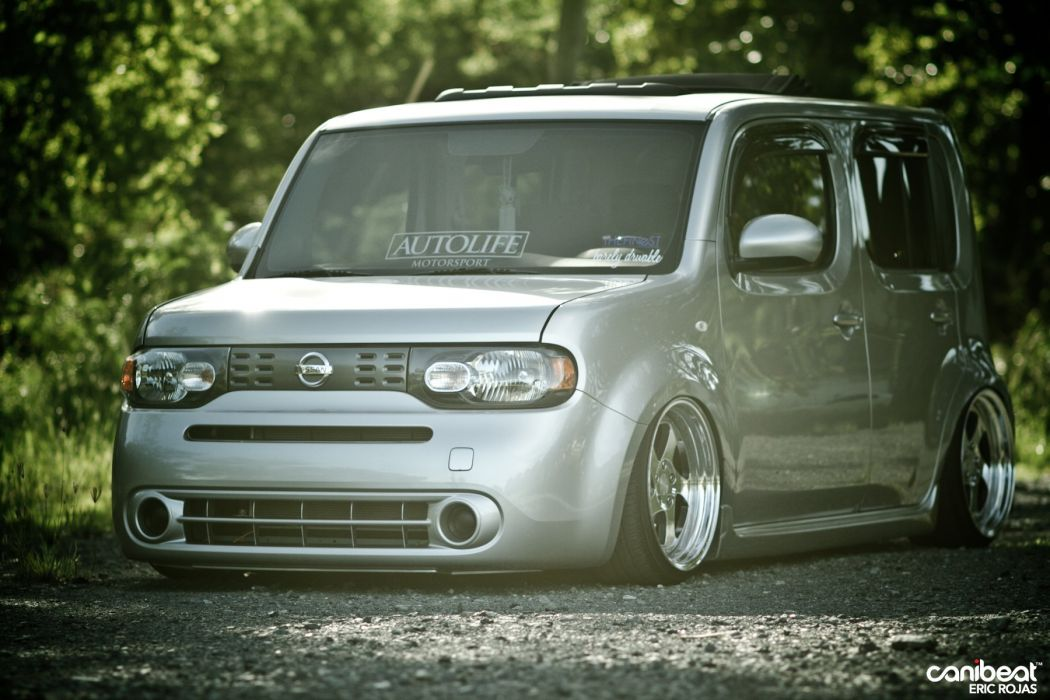 nissan cube tuning custom van suv wallpaper 1800x1200. Black Bedroom Furniture Sets. Home Design Ideas
