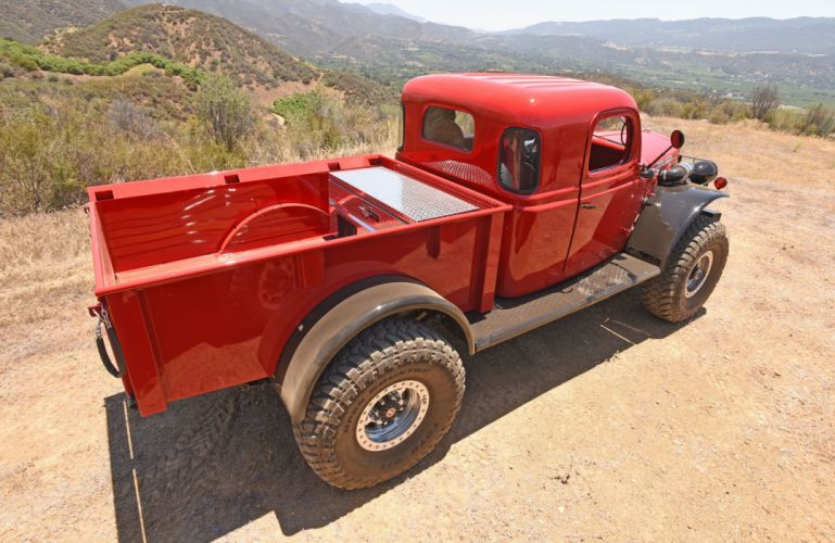 Dodge Power Wagon offroad 4x4 pickup retro custom wallpaper