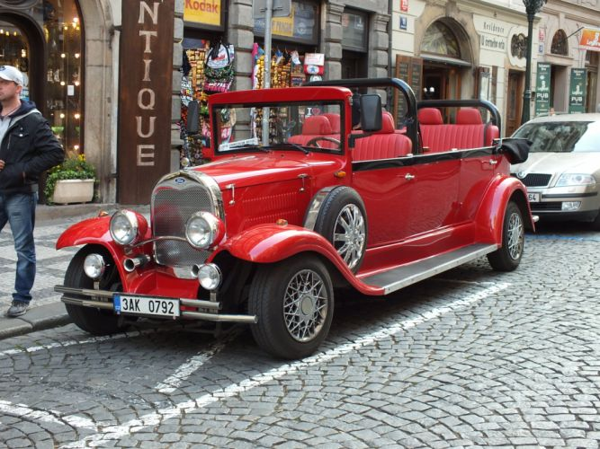 replica Prague limo limousine wallpaper