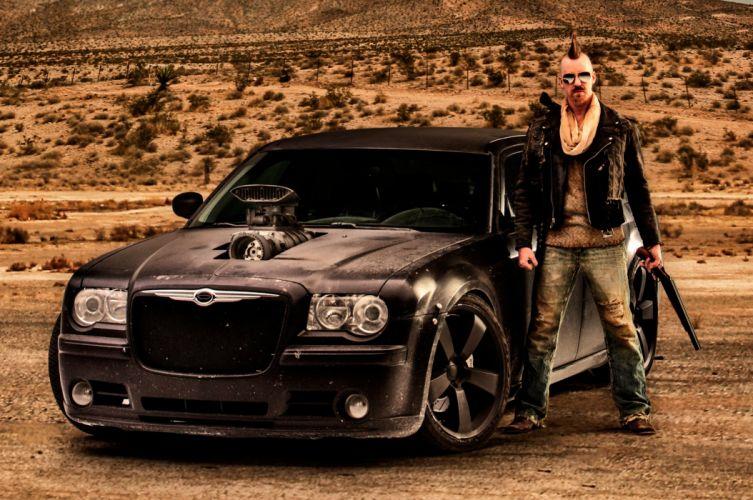 2006 SRT8 Chrysler 300C mad max luxury hot rod rods custom concept wallpaper