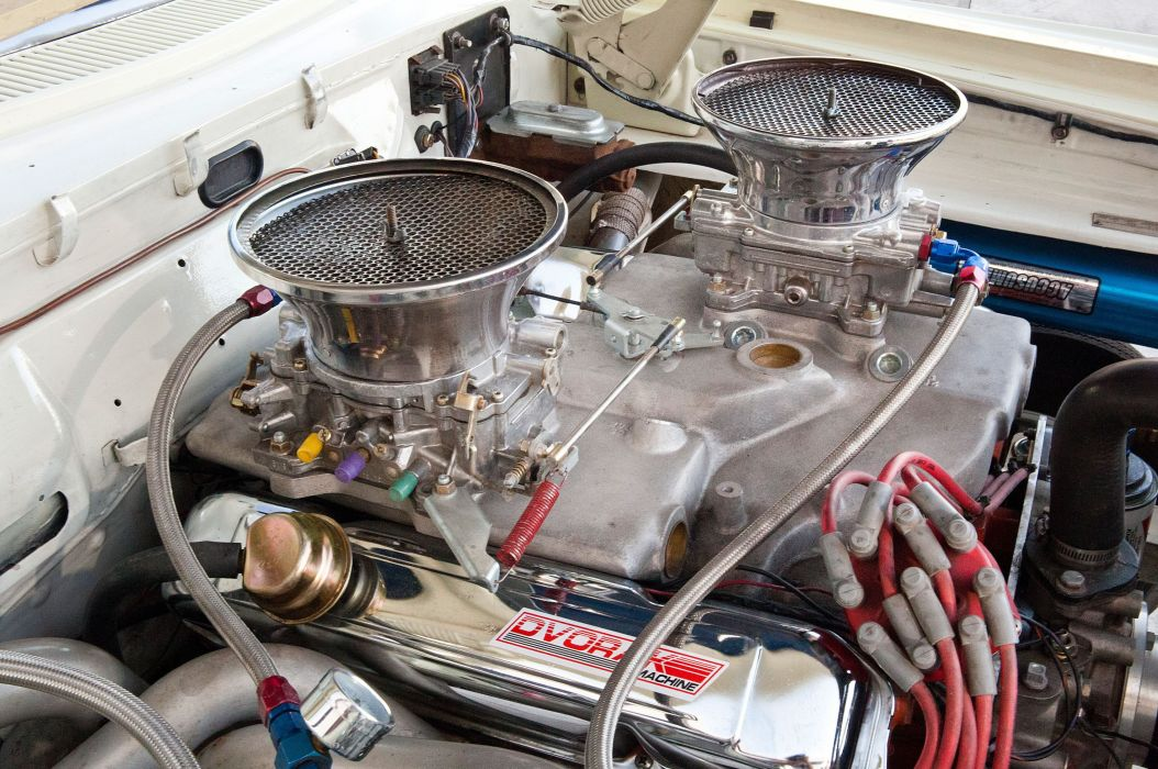 1964 Dodge 330 Wagon drag racing race hot rod rods stationwagon classic wallpaper