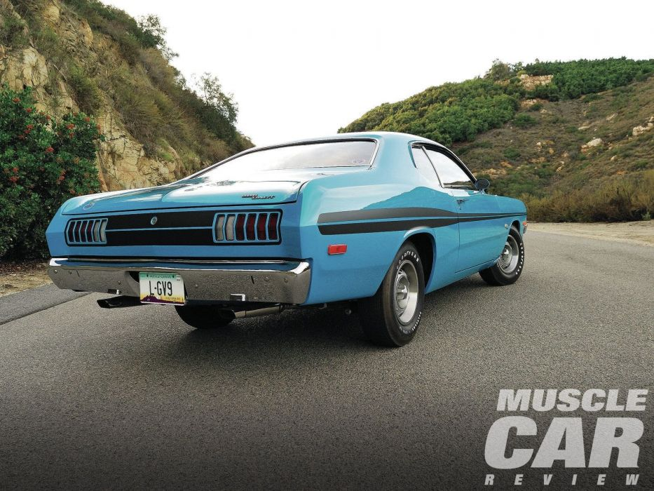 1972 Dodge Demon muscle classic dart wallpaper