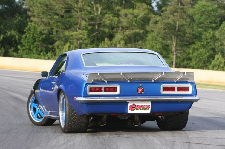 1968 Chevrolet Camaro hot rod rods custom muscle classic wallpaper