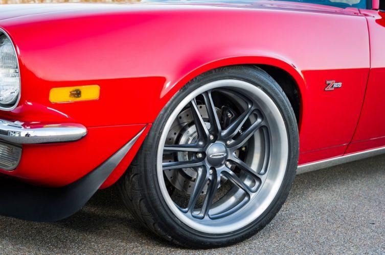1973 Chevrolet Camaro hot rod rods custom muscle classic wallpaper