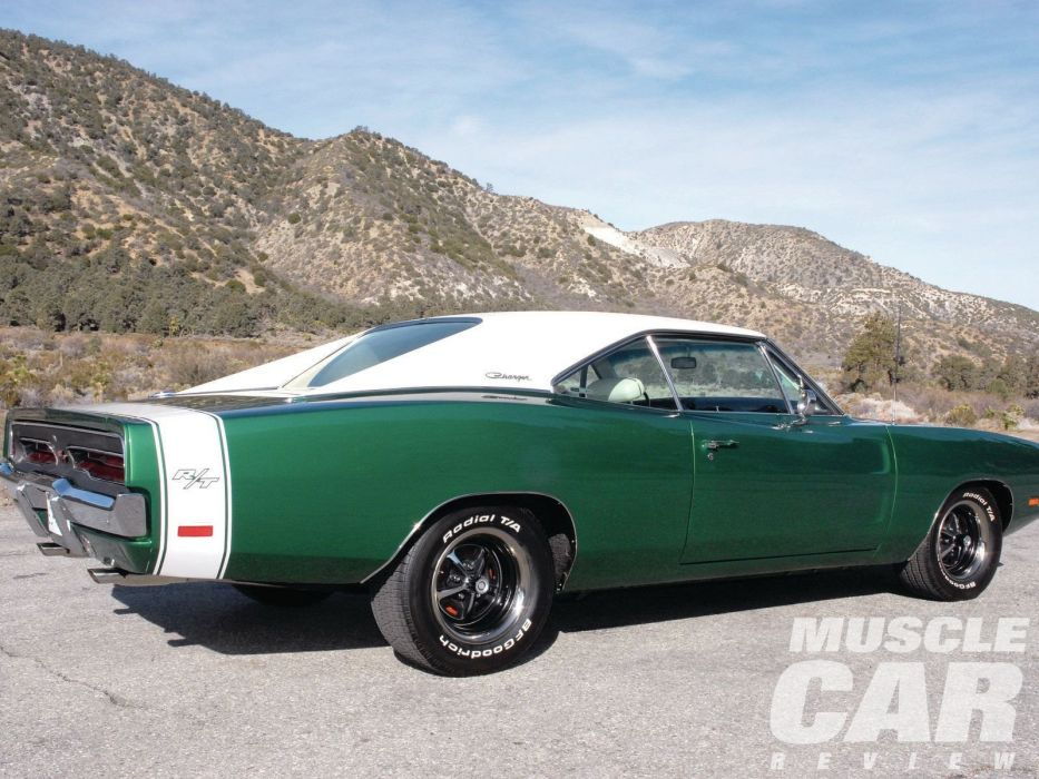 1969 Dodge Charger muscle classic r-t wallpaper