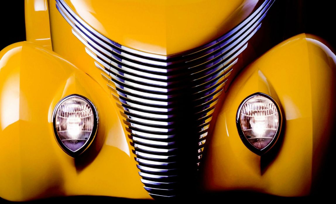 1937 Ford Cabriolet Smoothster hot rod rods custom retro wallpaper