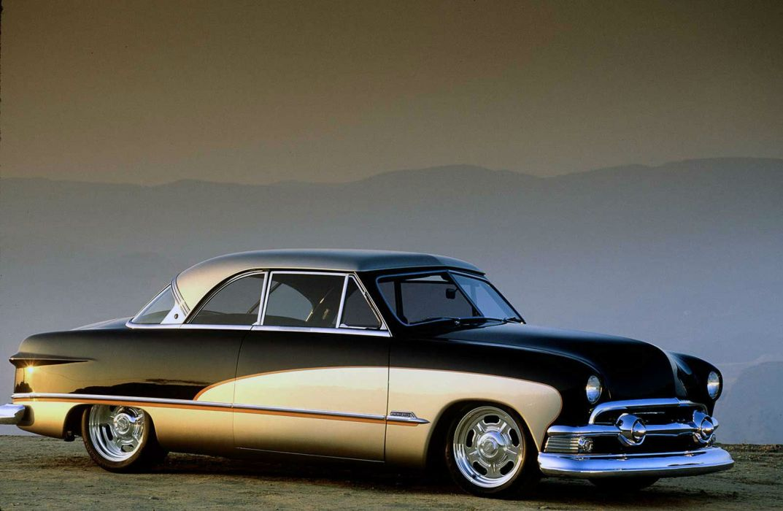 1951 Ford Crestliner hot rod rods custom retro wallpaper