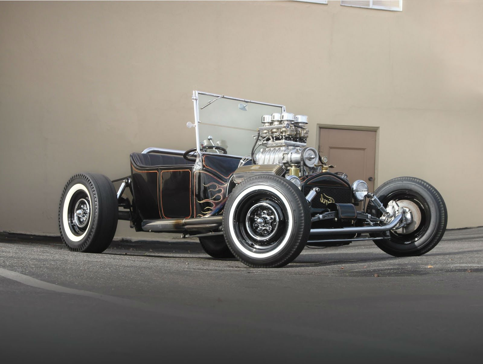 1915 Ford Model-T Bucket hot rods rod custom retro vintage wallpaper ...