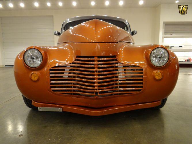1941 Chevrolet Coupe hot rod rods custom retro wallpaper