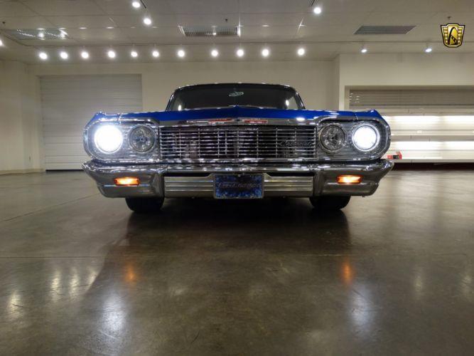 1964 Chevrolet Biscayne hot rod rods custom lowrider classic wallpaper