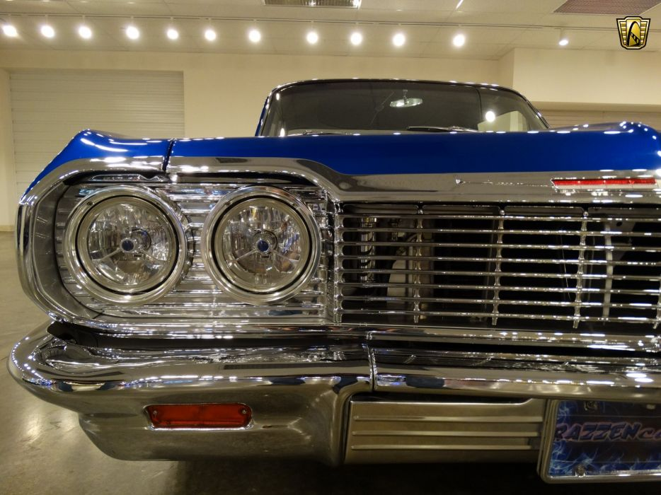 1964 Chevrolet Biscayne hot rod rods custom lowrider classic wallpaper