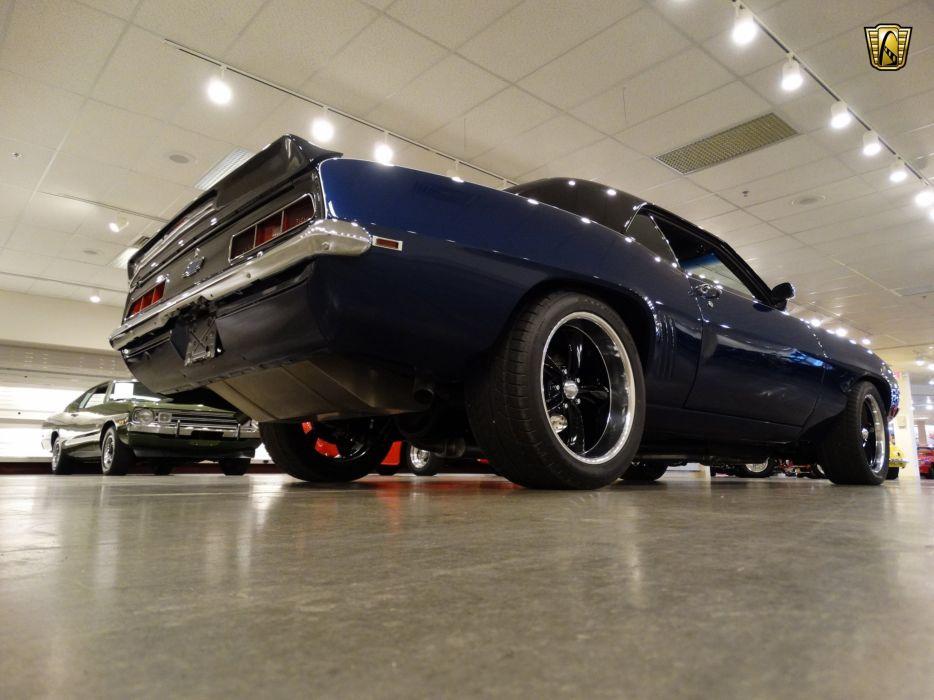 1969 Chevrolet Camaro muscle vlassic hot rod rods wallpaper