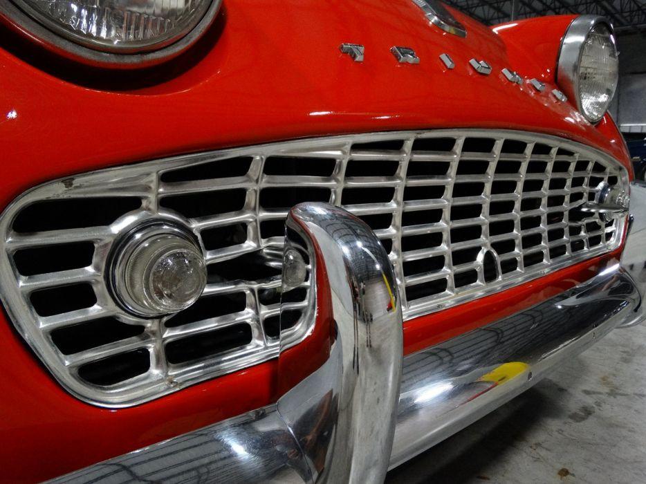 1960 TRIUMPH TR3A retro convertible wallpaper