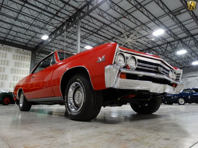 1967 Chevrolet Chevelle muscle classic 396 wallpaper