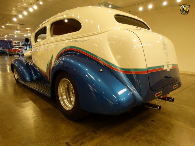 1938 Chevrolet Master Deluxe custom hot rod rods retro wallpaper