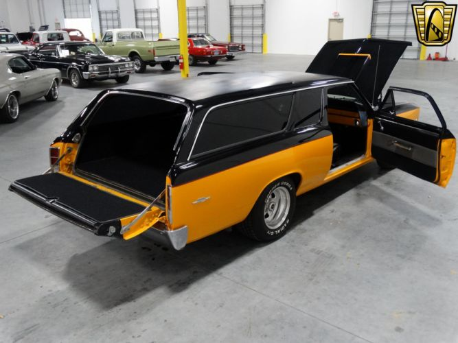 1966 Chevrolet Chevelle stationwagon muscle hot rod rods classic wallpaper