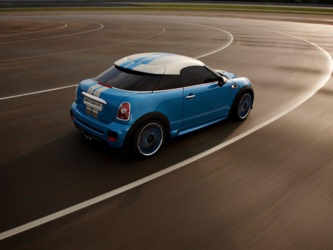 MINI Coupe concept (R58) cars 2009 wallpaper