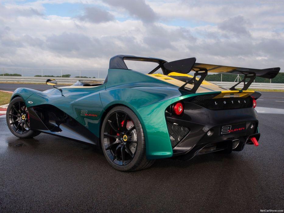 Lotus 3-Eleven cars 2016 wallpaper